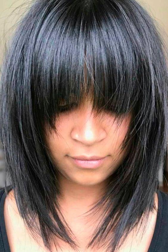 Натуральный черный цвет волос (11)