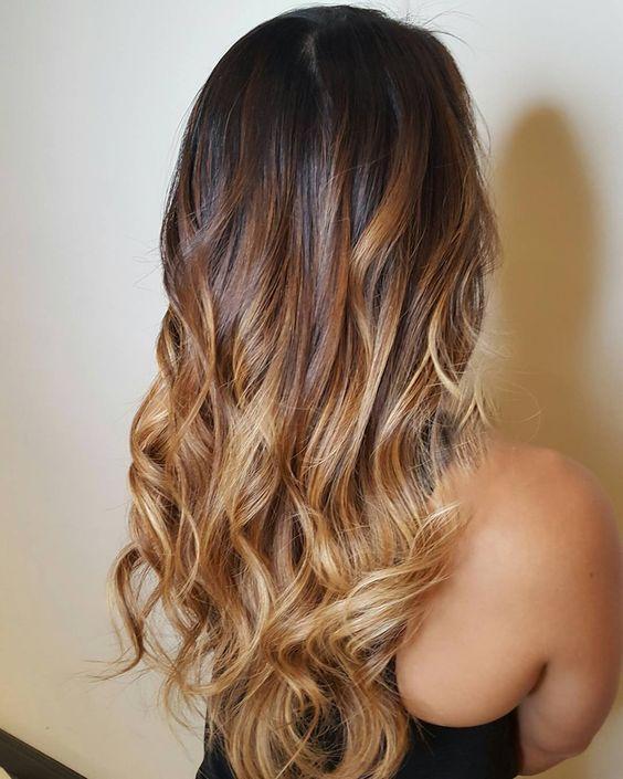Цвет волос мелирование фото (49)
