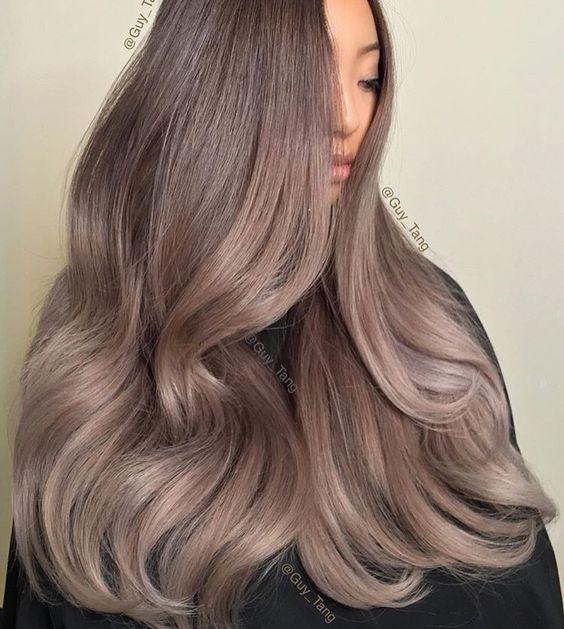 Окрашивание длинных волос 2018 (2)