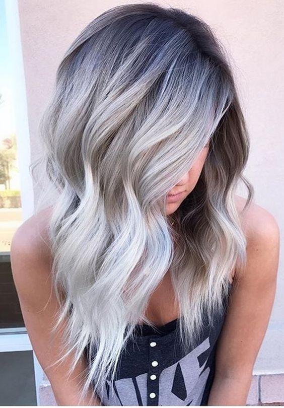 Седой цвет волос (4)