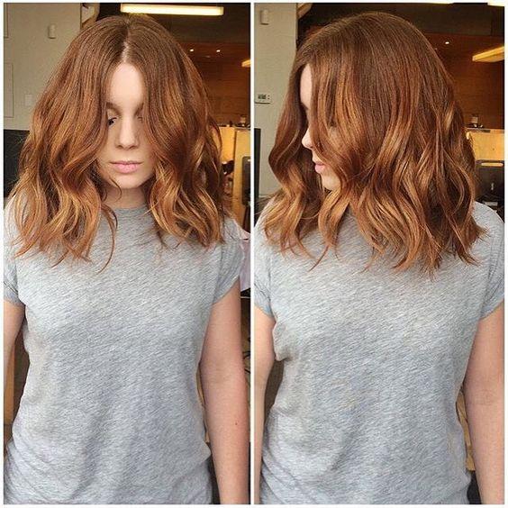Натуральный рыжий цвет волос (9)