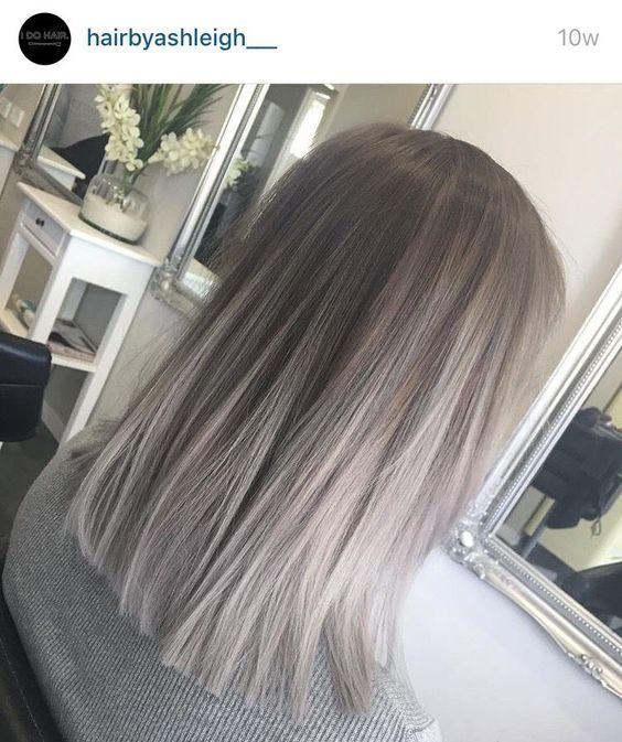 Седой цвет волос (39)