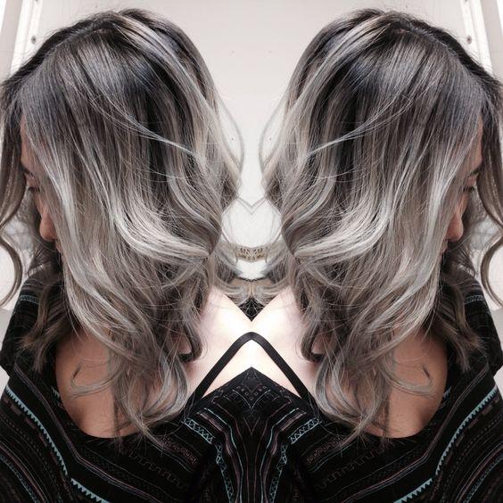 Натуральный пепельный цвет волос (4)
