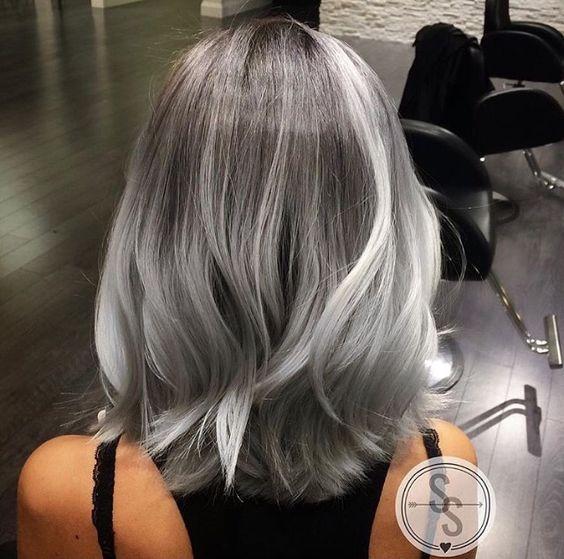 Седой цвет волос (38)