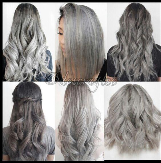 Седой цвет волос (37)