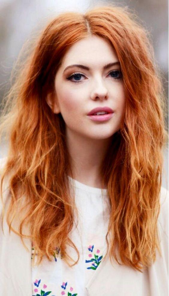 Натуральный рыжий цвет волос (8)