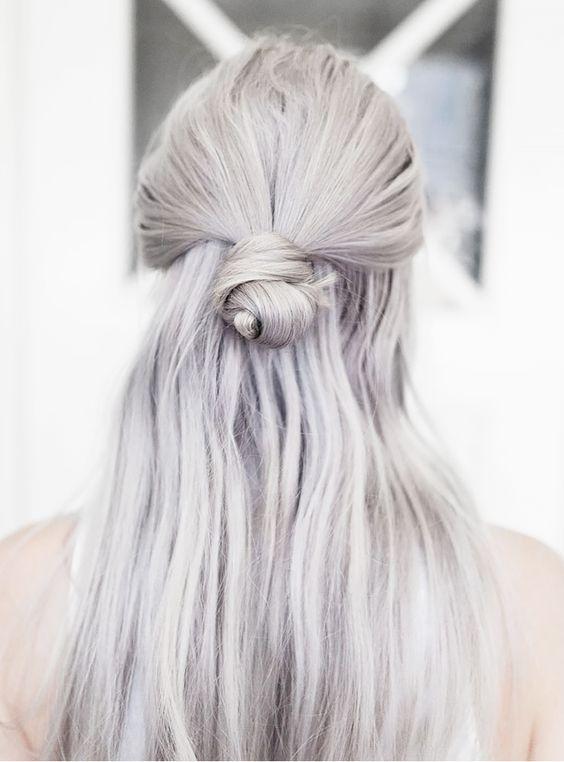 Седой цвет волос (36)
