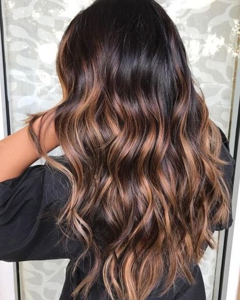 Цвет волос мелирование фото (46)