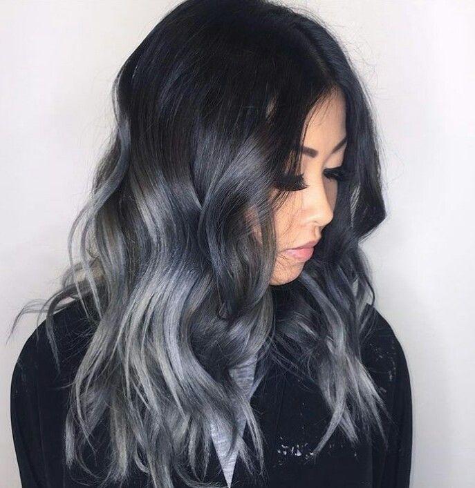 Натуральный пепельный цвет волос (23)