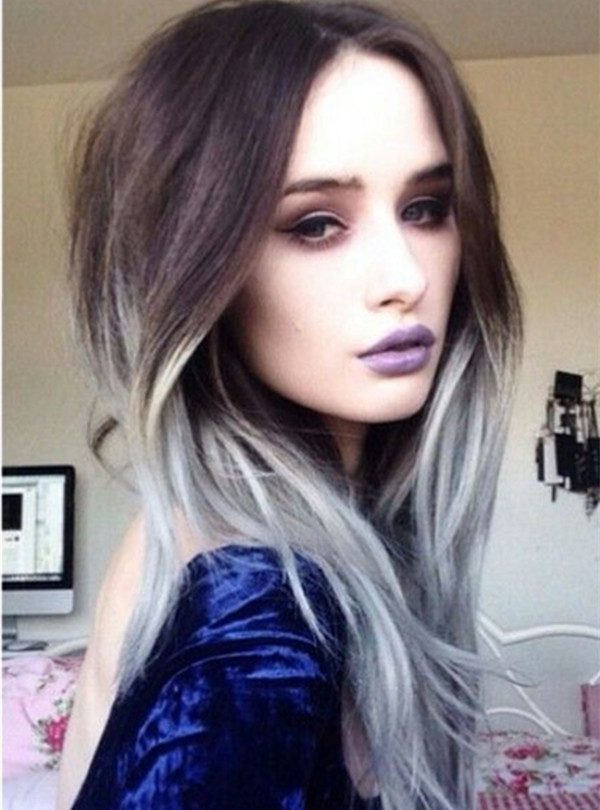 Седой цвет волос (21)