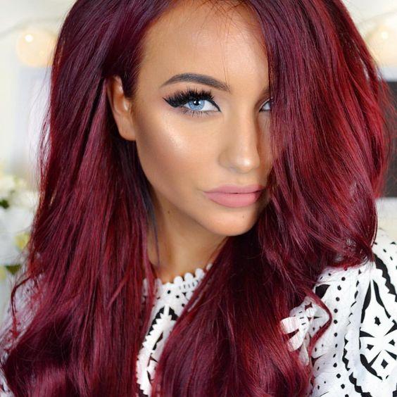 Натуральный рыжий цвет волос (6)
