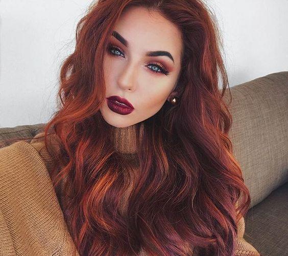 Натуральный рыжий цвет волос (5)