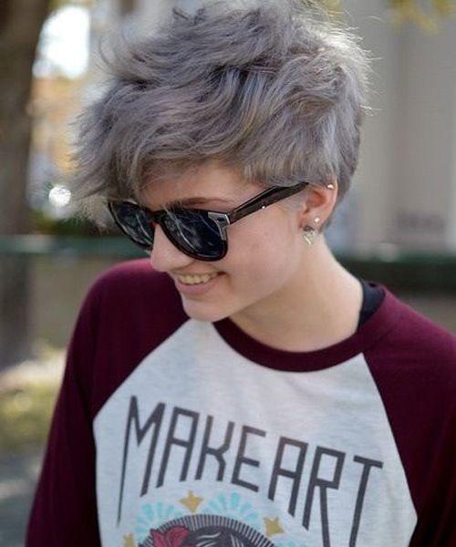 Натуральный пепельный цвет волос (13)