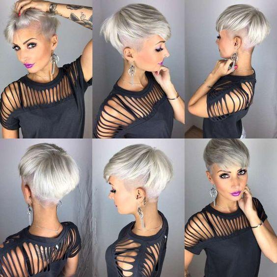Седой цвет волос (3)