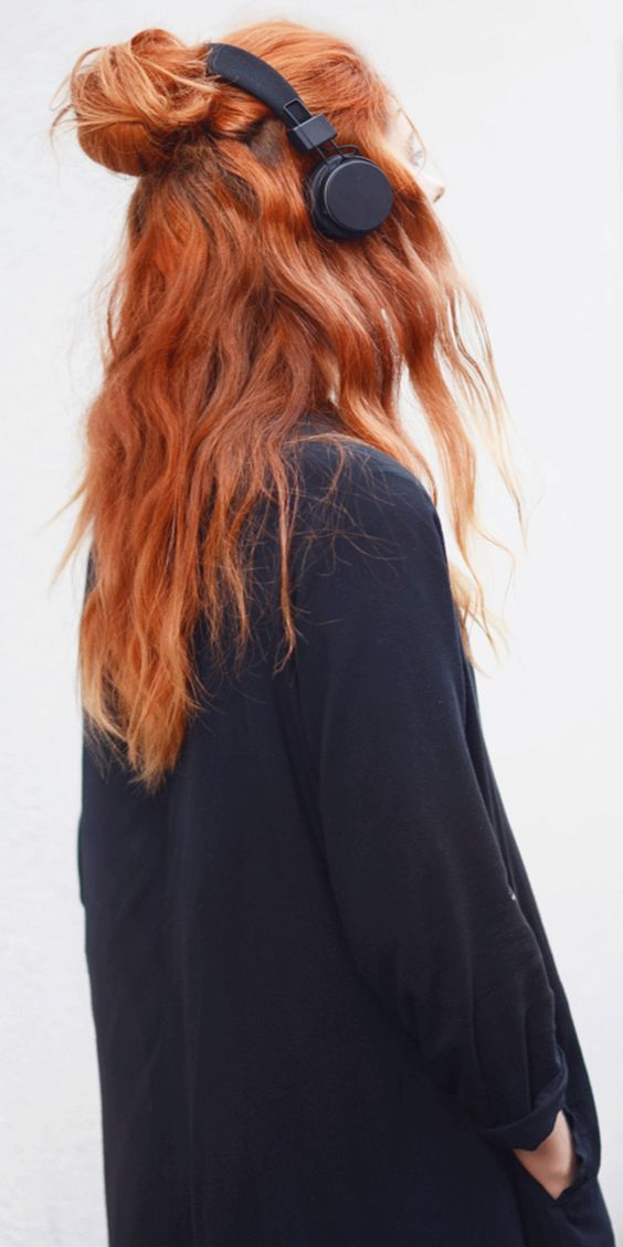 Натуральный рыжий цвет волос (1)