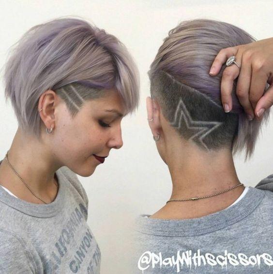 Седой цвет волос (35)