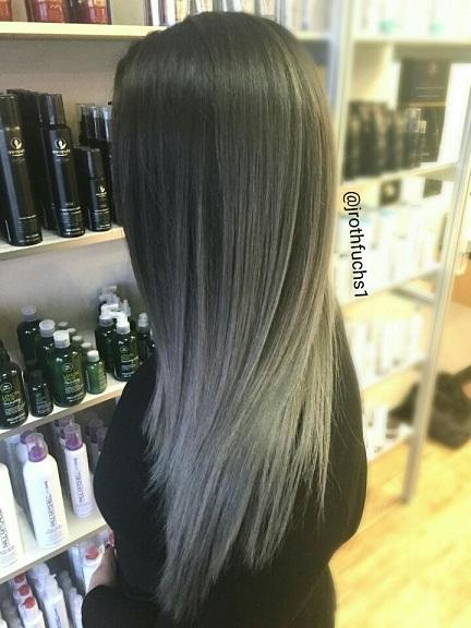 Натуральный пепельный цвет волос (21)