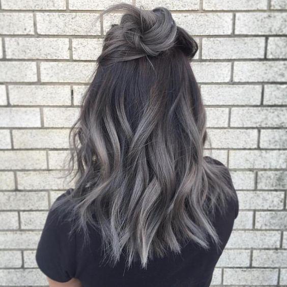 Натуральный пепельный цвет волос (19)