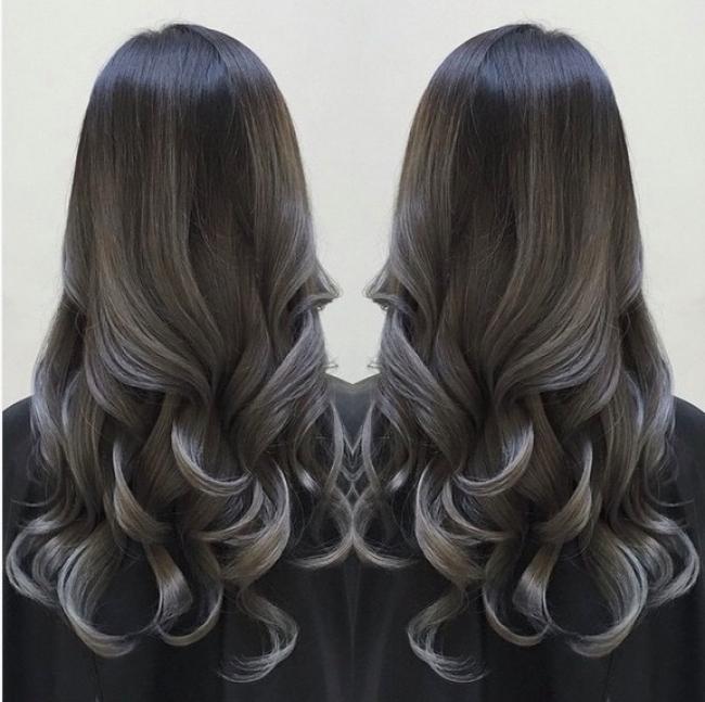 Натуральный пепельный цвет волос (18)