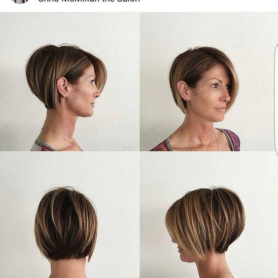 Стрижки женские с челкой круглое лицо (23)
