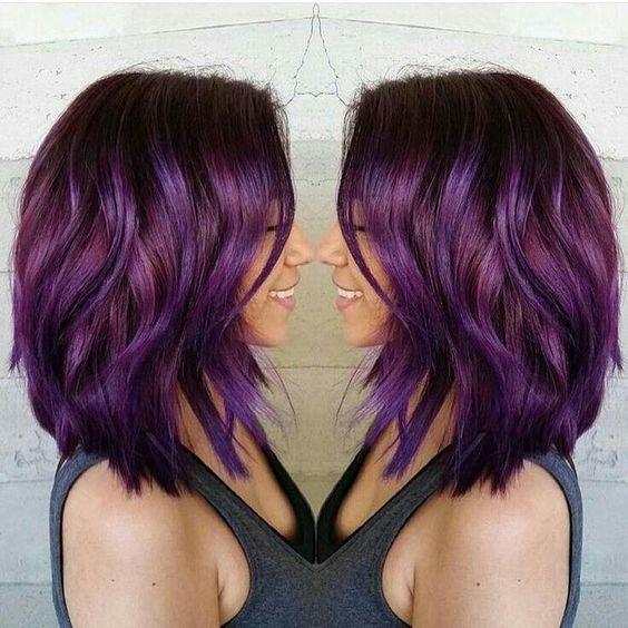 Фиолетовое омбре (38)
