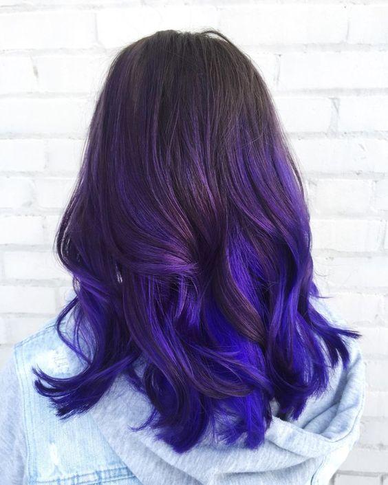 Фиолетовое омбре (39)