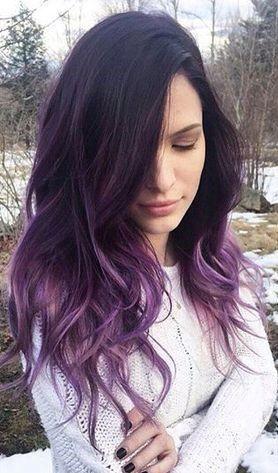 Фиолетовое омбре (28)