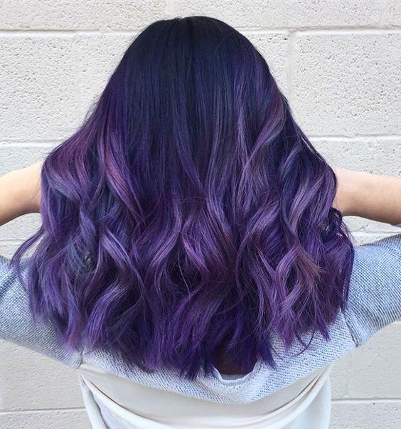 Фиолетовое омбре (35)