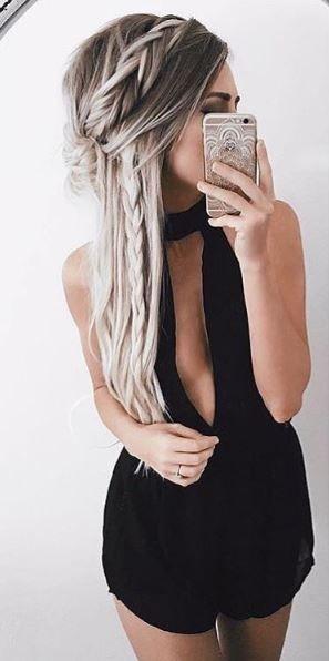 Укладка на тонкие волосы (25)