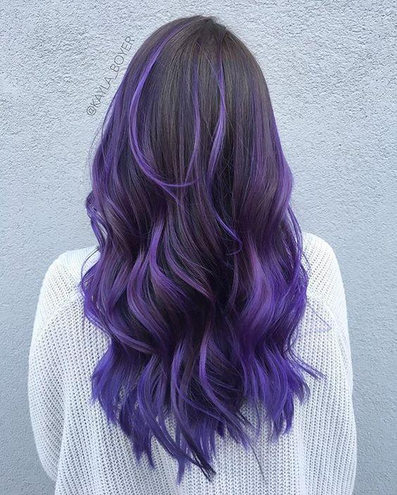 Фиолетовое омбре (33)