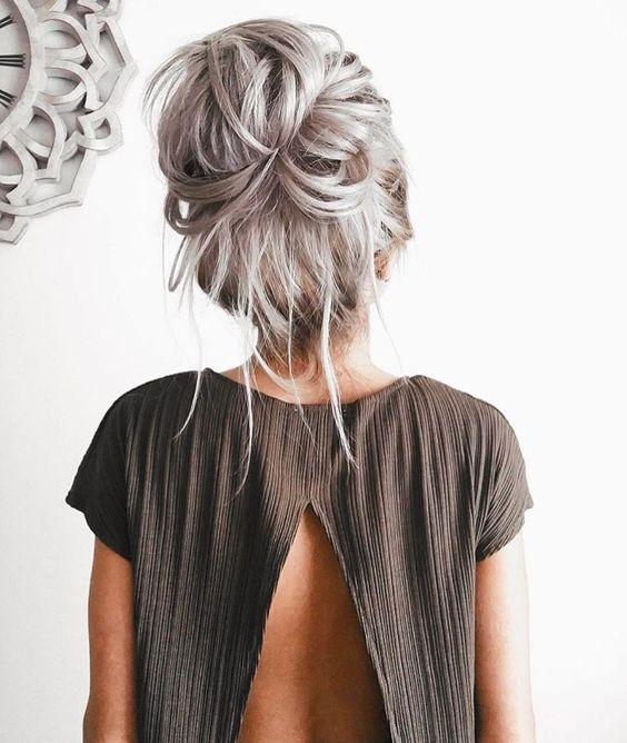 Укладка на тонкие волосы (55)