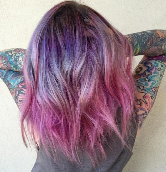 Фиолетовое омбре (23)