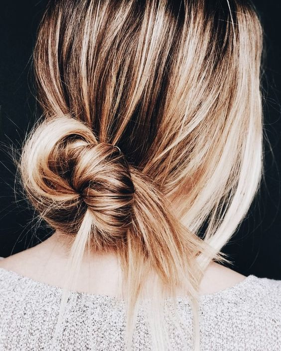 Укладка на тонкие волосы (46)
