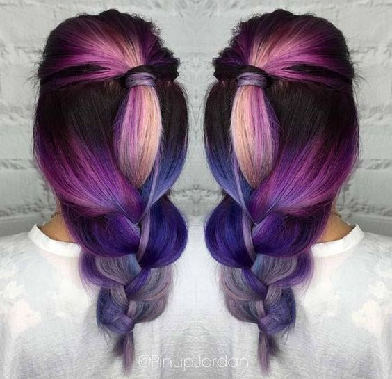 Фиолетовое омбре (29)