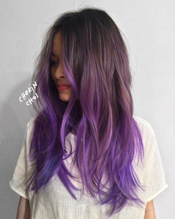 Фиолетовое омбре (20)