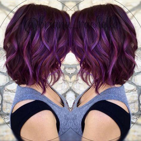 Фиолетовое омбре (21)