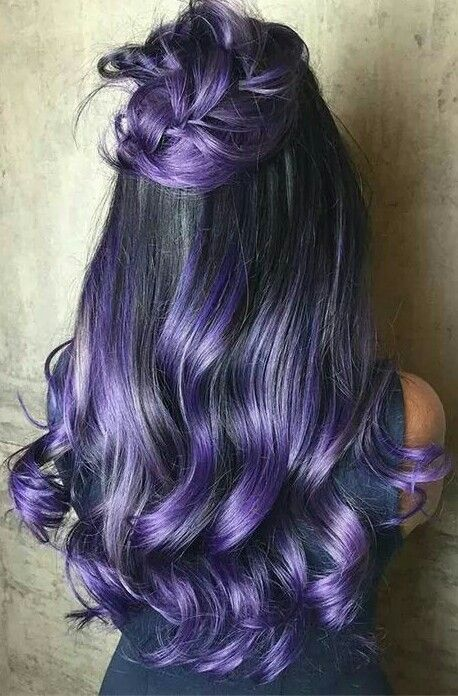 Фиолетовое омбре (19)