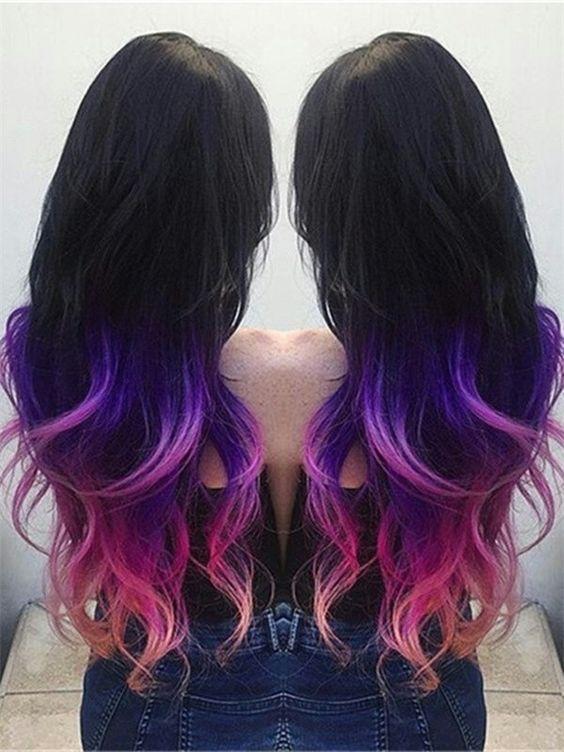 Фиолетовое омбре (18)
