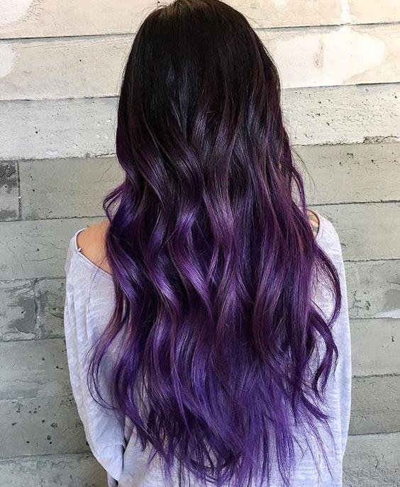Фиолетовое омбре (17)