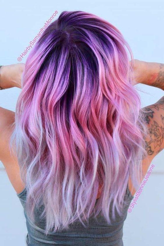 Фиолетовое омбре (16)
