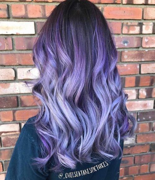 Фиолетовое омбре (12)