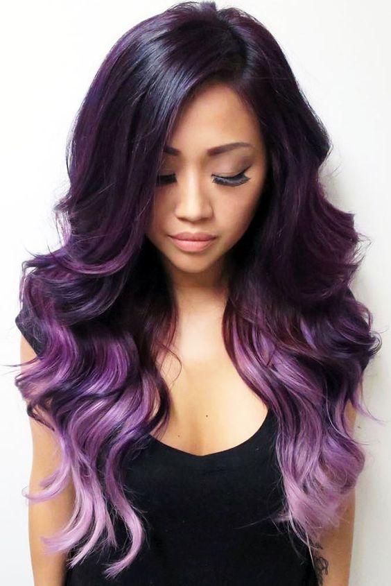 Фиолетовое омбре (14)
