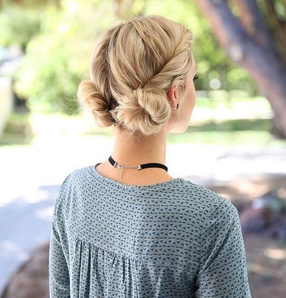 Укладка на тонкие волосы (45)