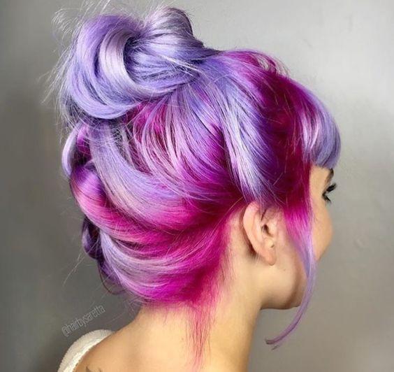 Фиолетовое омбре (11)