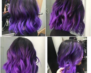 Фиолетовое омбре (8)