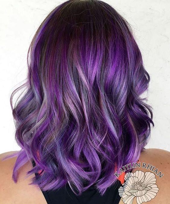Фиолетовое омбре (6)
