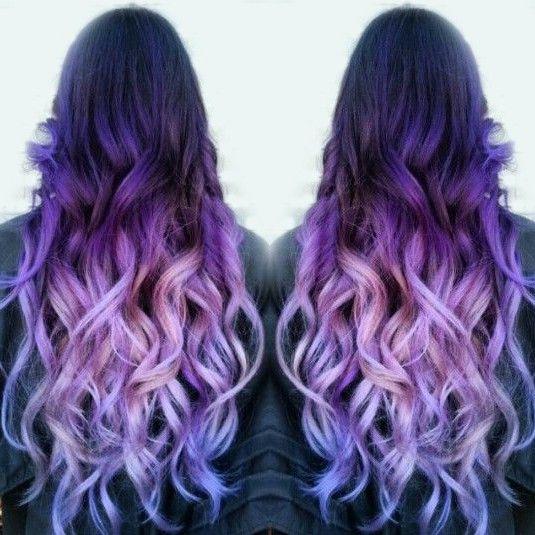 Фиолетовое омбре (5)