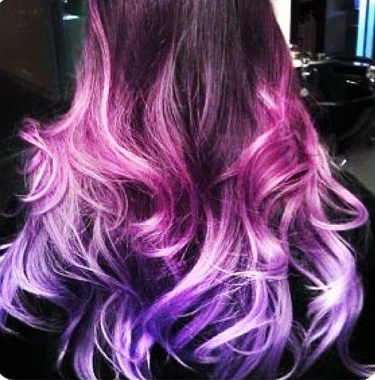 Фиолетовое омбре (3)