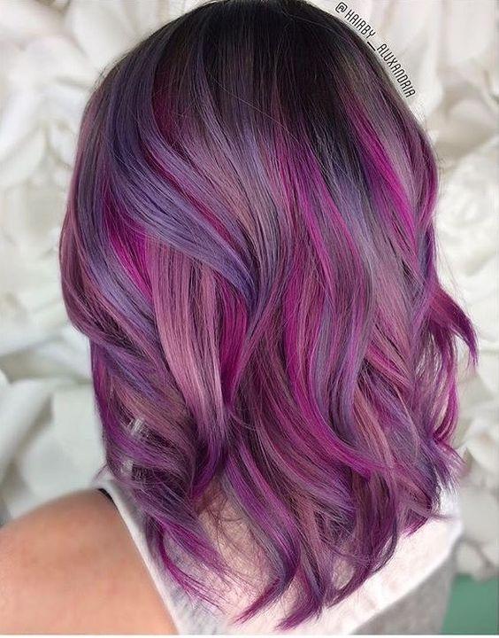 Фиолетовое омбре (4)
