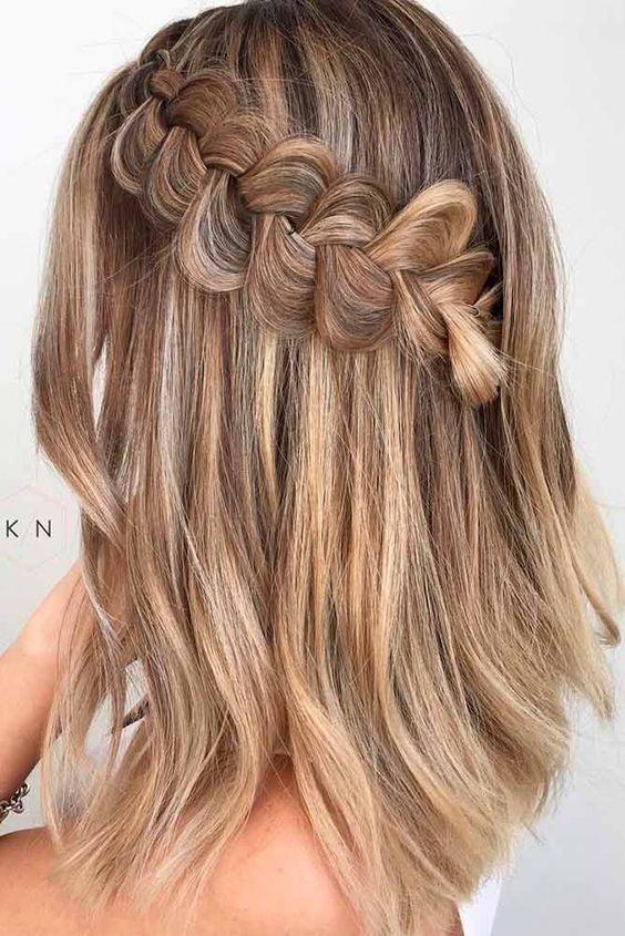 Укладка на тонкие волосы (33)